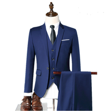 Ready To Ship Latest <strong>Design</strong> 3 Piece Slim Fit Coat Pant Mens Blazer Suit