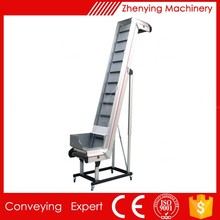 Industry steep sidewall sand belt conveyor transporter