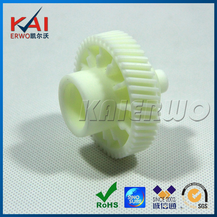 OEM Small Plastic Nylon Gears Made by CNC Machining have Accurate Size