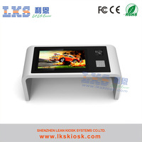 Interactive Touch Table Kiosk Used In