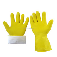 Hot selling household rubber gloves of kitchen gloves for dish washing