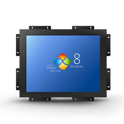 open frame capacitive touch screen 10 inch industrial LCD panel monitor