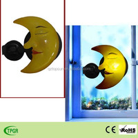2015 newest polyresin moon sun star led solar night light for home
