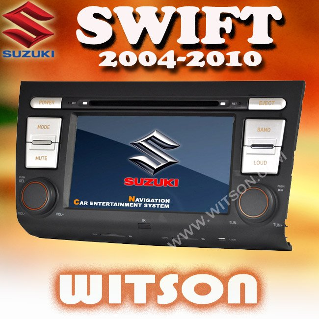 WITSON CAR AUDIO PLAYER FOR SUZUKI SWIFT with Auto Rear View Function