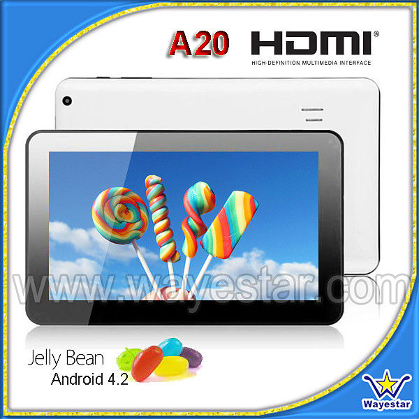 Cheap 9 inch Android 4.2 Dual Core Tablet MID 1G/8G with HDMI 2 Cameras
