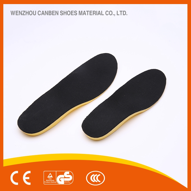 breathable NET CLOTH pu insole for flat feet