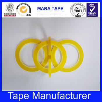 Single Sided Adhesive Marking Tape Mara Tape Yellow