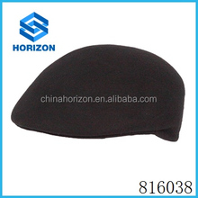 Fashion 100% wool felt hat cap beret