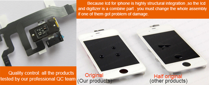 Dropshipping OEM Grade AAA Mobile Phone Lcd for iPhone 6S Lcd with Touch Screen Digitizer