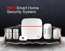 Comfortable Smart Safe Home Wifi GSM Alarm System PY-XY04