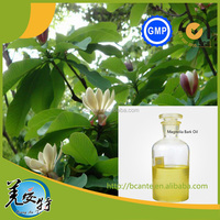 Manufacture of 100% nature Magnolia Bark Essential Oil by Co2 extracting
