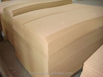 Natural cork sheet for various using