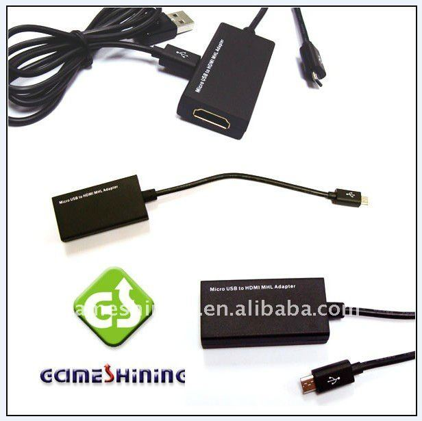 Micro Usb to HDMI Cable MHL Adapter for Samsung