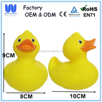 OEM kids bath toy bathtub duck floating plastic duck