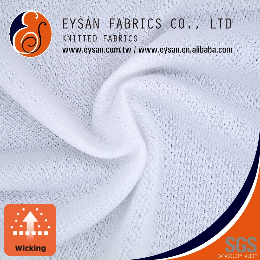 EYSAN Knitted Light Baby French Terry Quick Dry Polyester Fabric