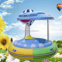 Water bumper boat with laser guns,water park rides for sale