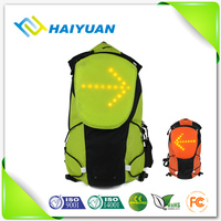 LED flashing child safety backpack, LED light backpack for camping