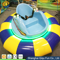 Popular Theme Park Rides Amusement Park Race Car 12V 60W Motor Coin Operated Used Ufo Bumper Cars For Sale With CE Certificate