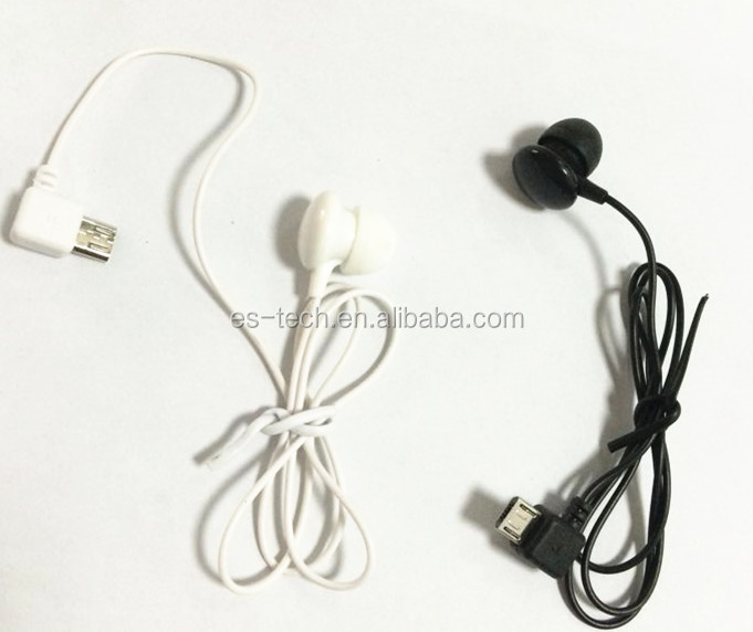 single earbuds mono earbud micro 5 pin jack