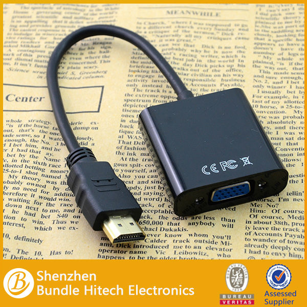 for HDMI to VGA Cable with Audio Output VGA for hdmi cable converter for TV