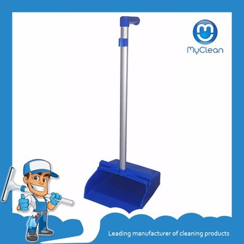 cheap plastic dustpan with long handle