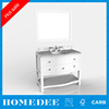 China Wholesale Basin Cheap Antique Modern Mirror Bathroom Vanity Cabinet