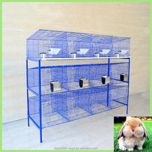3 tiers easy clean high survival rate industrial rabbit cages