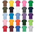 China Wholesale High Quality Mixed Color Combed Cotton Promotional Plain Custom T Shirt