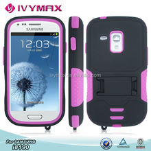 Mobile phone hybrid case for Samsung Galaxy S3 MINI i8190