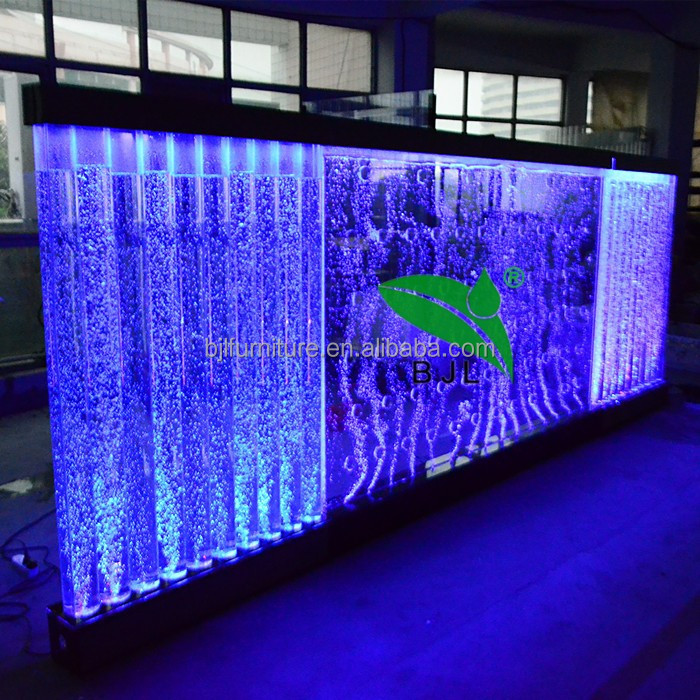 water bubble wall french room divider screen <strong>led</strong> light decoration
