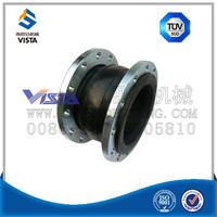teflon PTFE lined expansion joint with flange
