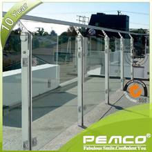 New design PEMCO OEM&ODM Stainless steel balcony railing baluster design