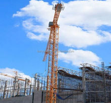 QTZ50(Max. Load:5T) Hydraulic fixed small tower crane