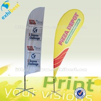 outdoor feather banner flag,beach flag display system