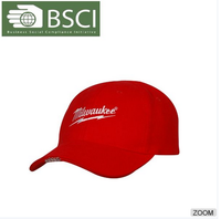 BSCI audit adults fitted trucker korean led light baseball cap