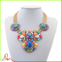 Alibaba Express Jewelry 2014 Spring/Summer Design Necklace Statement Women Necklace 200