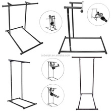 Home use dip station, free standing pull up bar