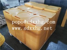 Anti slip UHMWPE crane outrigger pad/Crane Mats Pads Cribbing for sale