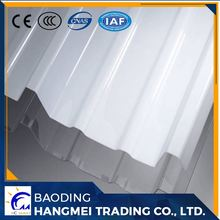 Sunshine resistant building high impact high quality pc corrugated polycarbonte transparent roofing sheet