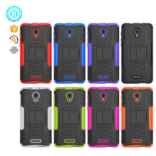 funny gift 8 color free sample tpu pc protective solid cover case for alcatel pop 4 plus