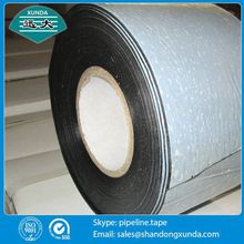 outer wrapping heat shrinkable pipeline wrap tape from manufacturer