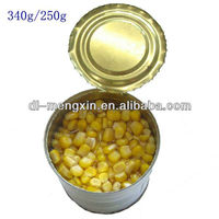 2015 new crop canned sweet corn kernel in tins