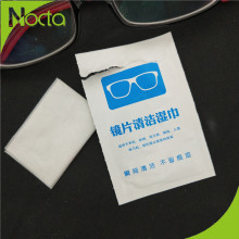 Professional disifectant lens wipe for glasses camera
