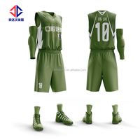 Top design wholesale sublimated basketball uniform