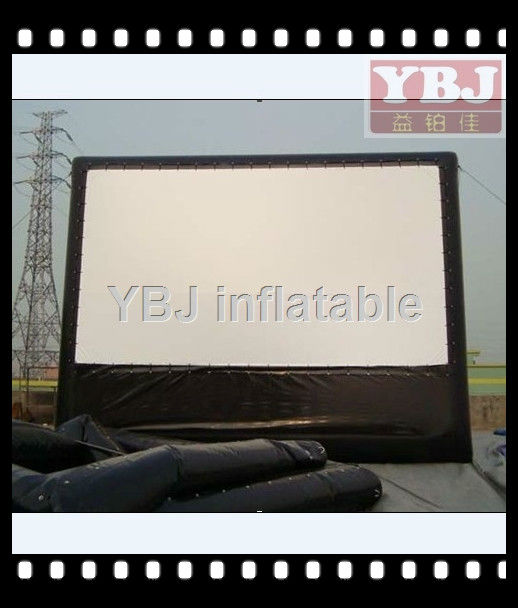 2015 New YBJ Inflatable Movie Screens Projection For Outdoor Show, High Quality Inflatable Screens, Inflatable Giant Model