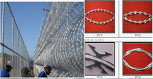 New design clips razor wire