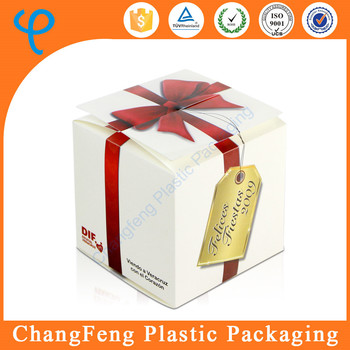 2015 new style Printed gift box packaging