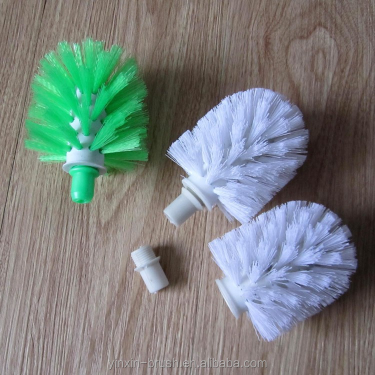 8X9CM plastic toilet brush, toilet brush brush head