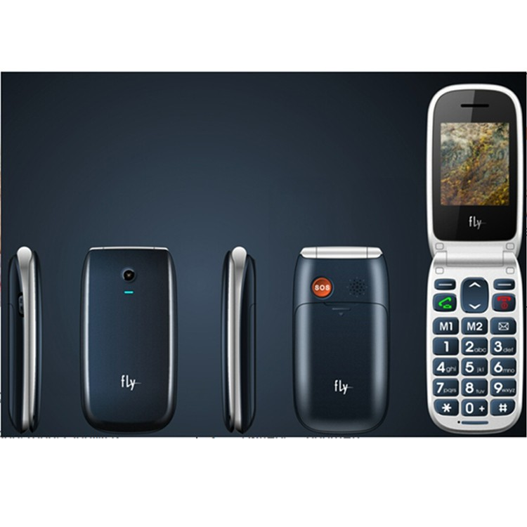 W72 feature phone with Quad Band Dual SIM mobile phone2.2 inch gsm keypad flip senior phone