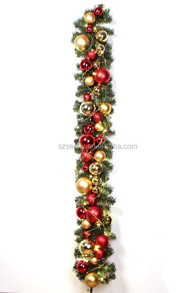 Shopping mall christmas novelty product baubles garland